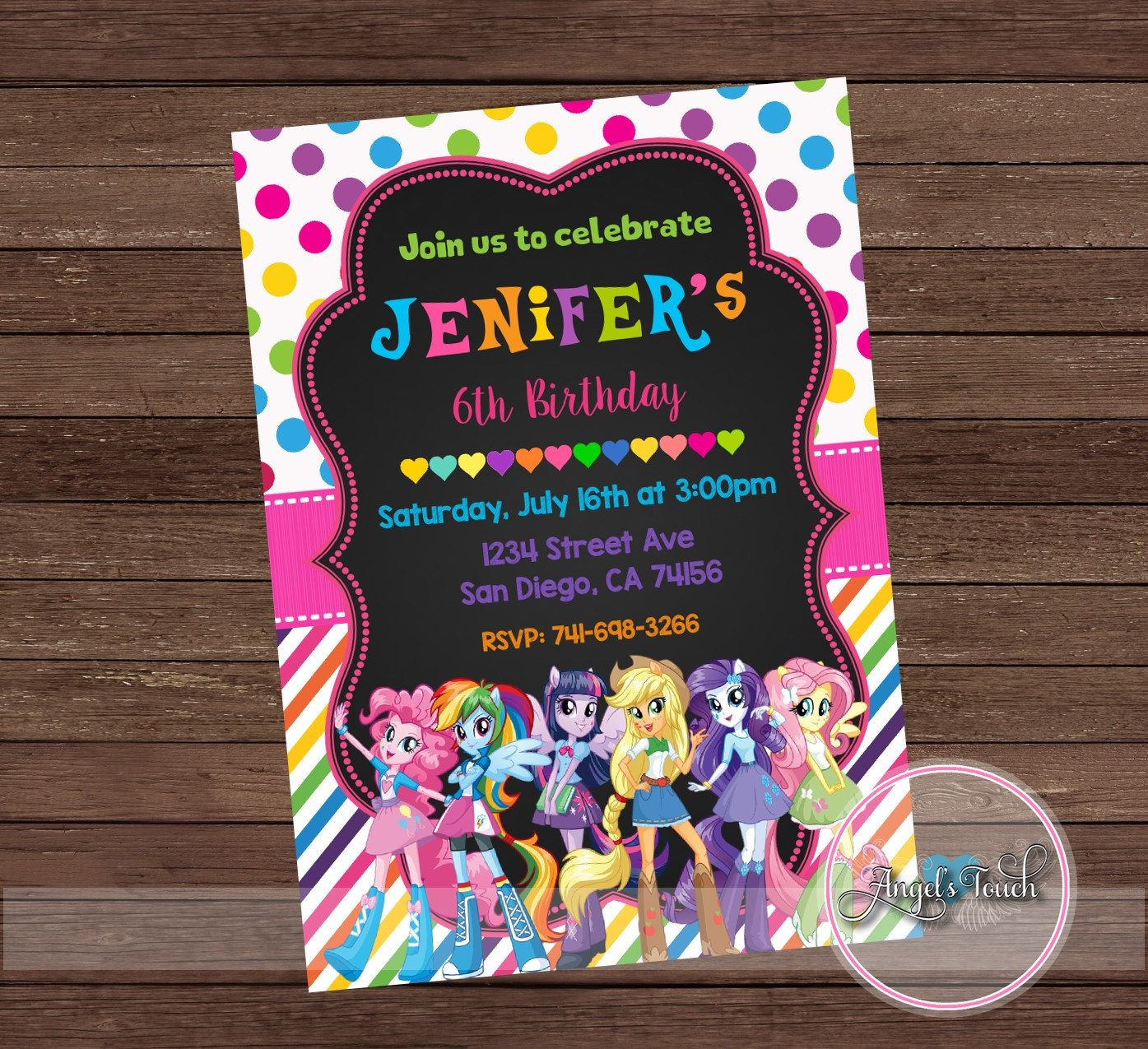 printable horse birthday party invitations free%0A template for letters of resignation