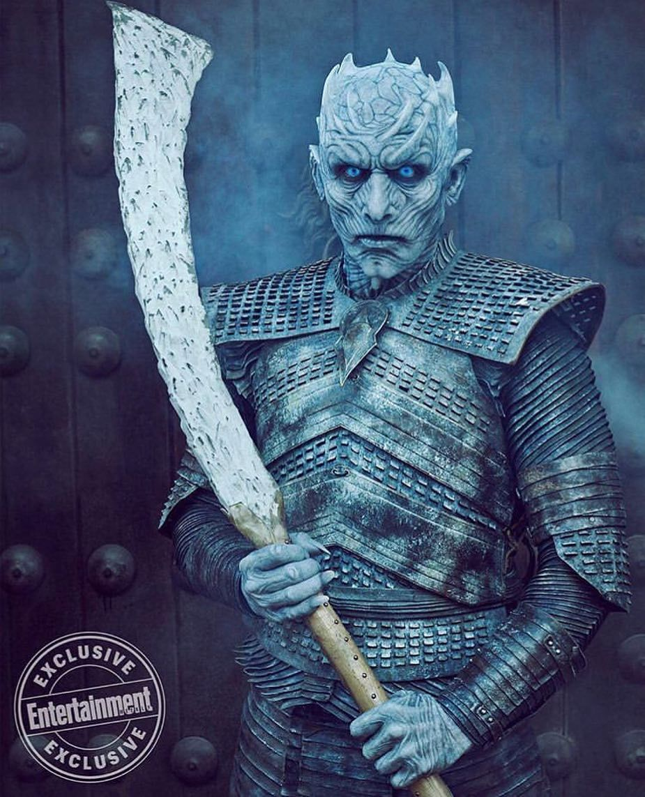 Game Of Thrones Vladimír Furdík On Playing The Night King: First Picture Of The Night King In Season 8, Game Of