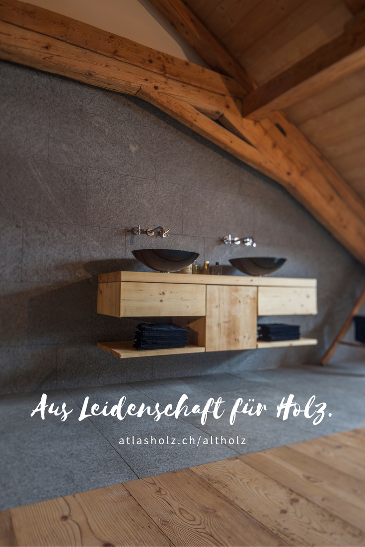 Badezimmer verschmilzt mit dem Schlafzimmer - Fürstliche Maxi ... | {Badezimmermöbel altholz 76}