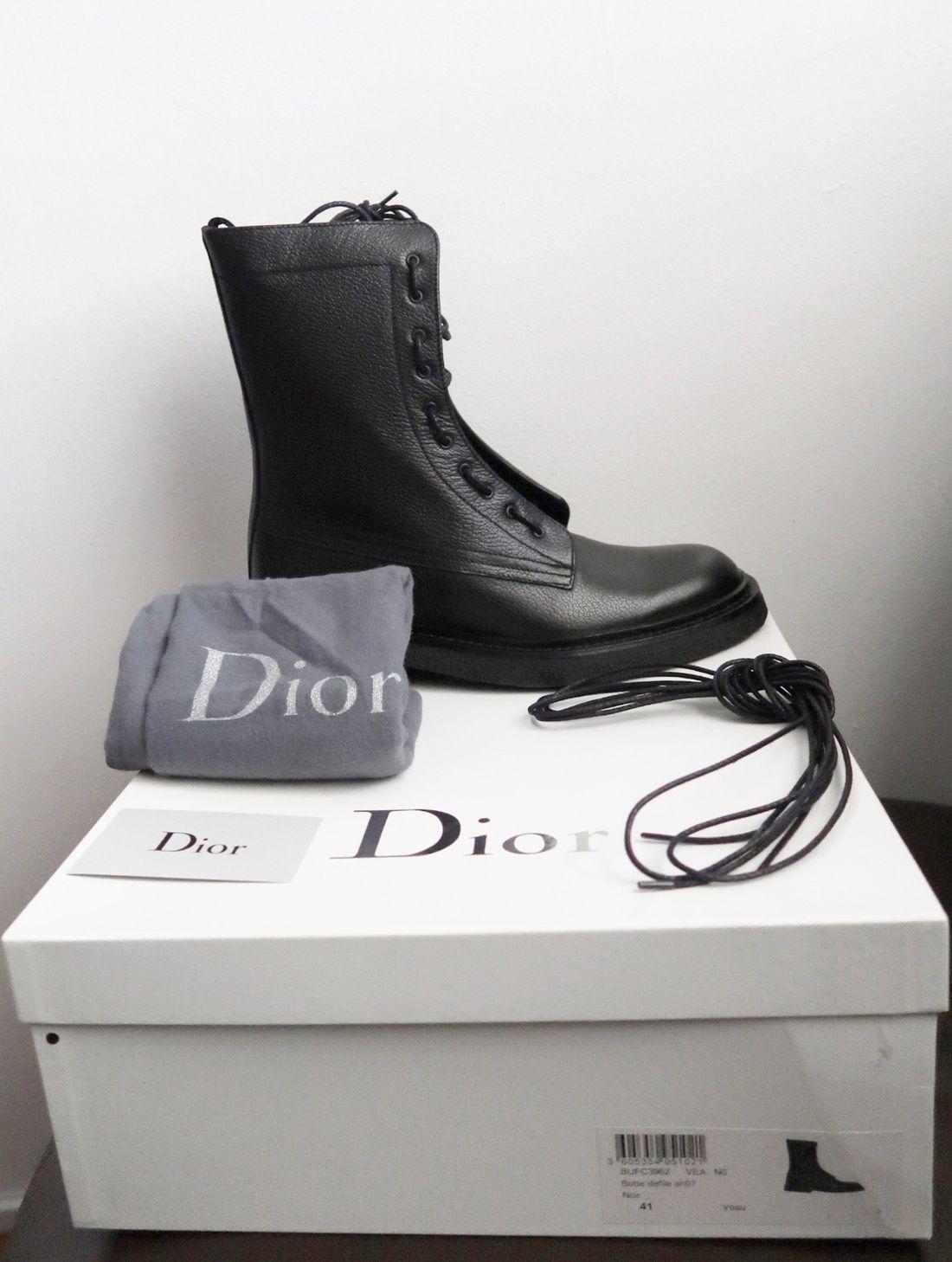 d76810975d6 Dior 2007 Aw Navigate Boots (Sz8 9) Size 9  2000 - Grailed