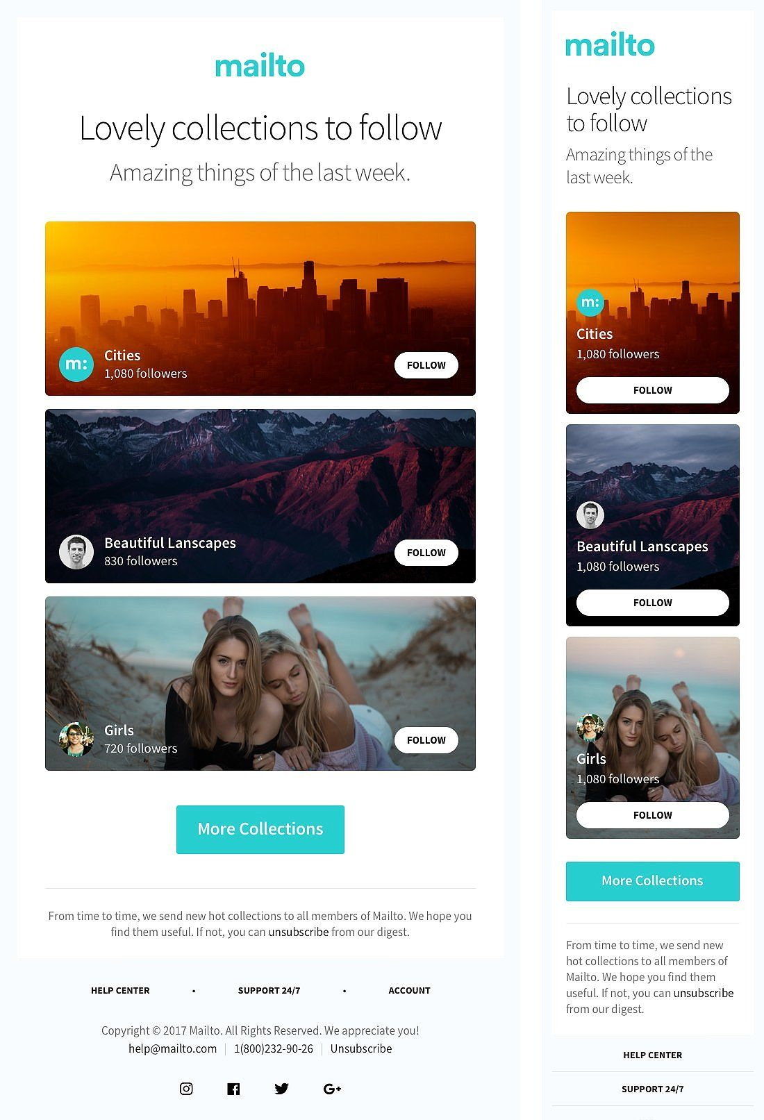 17 Email Templates Huge Bundle Email templates, Creative