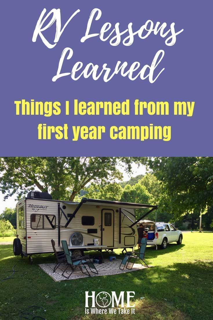 RV Living - RV Lessons Learned