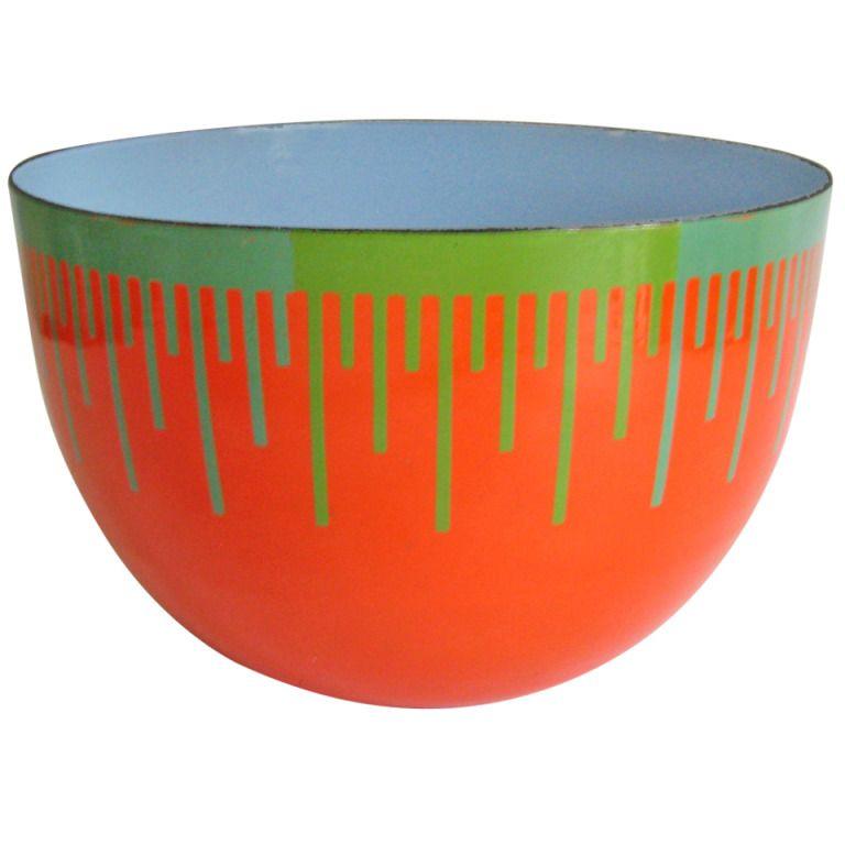 Plastic Decorative Bowls Richard Anuszkiewicz Bowl  Metal Bowl Bowls And Museums