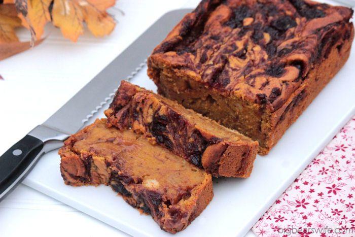 Big Bear's Wife: Cranberry Pumpkin Pie Loaf