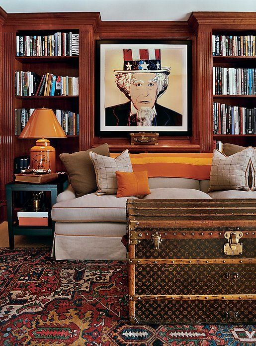 Antique Louis Vuitton trunk as coffee table I need to have this ...