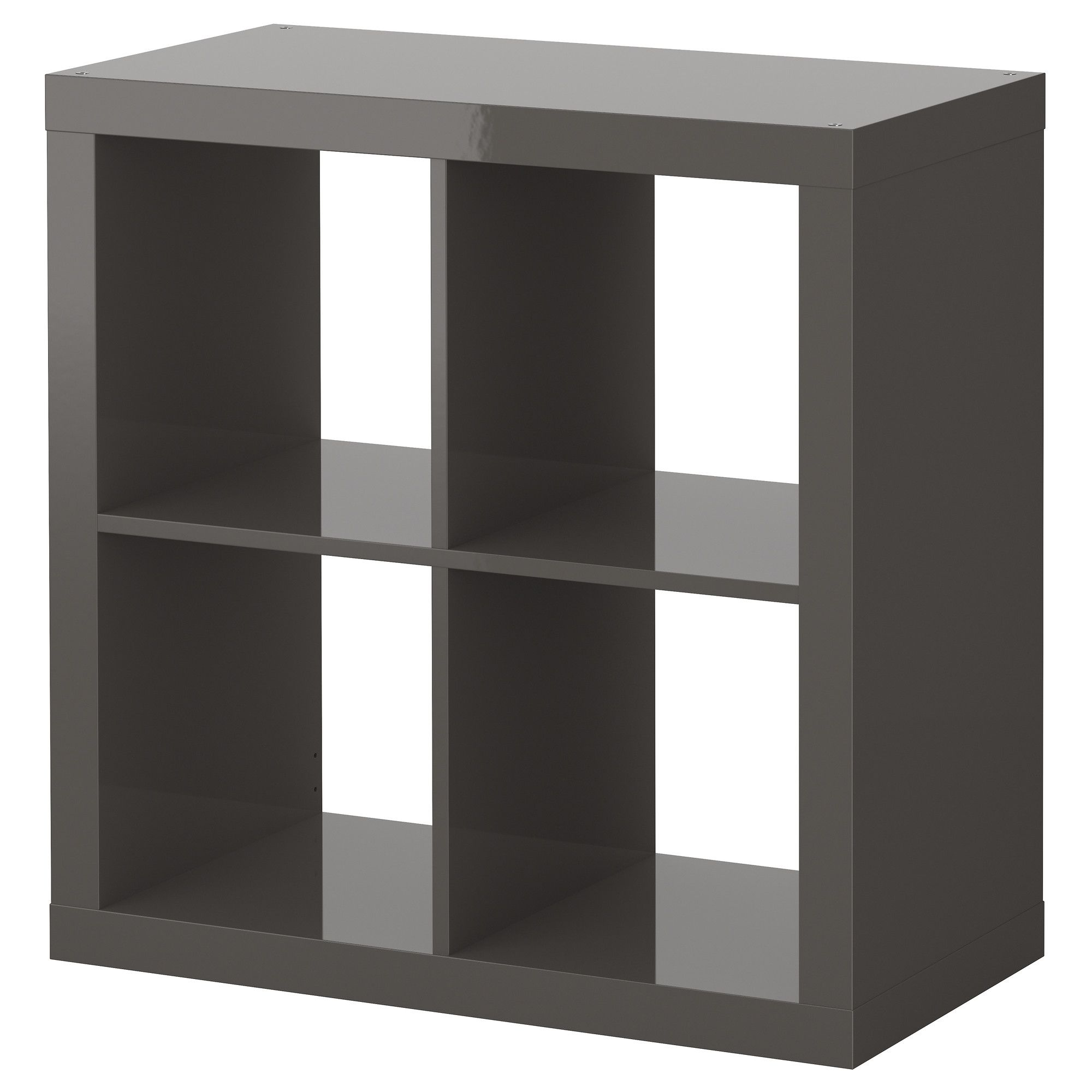 EXPEDIT Shelving unit high gloss grey IKEA