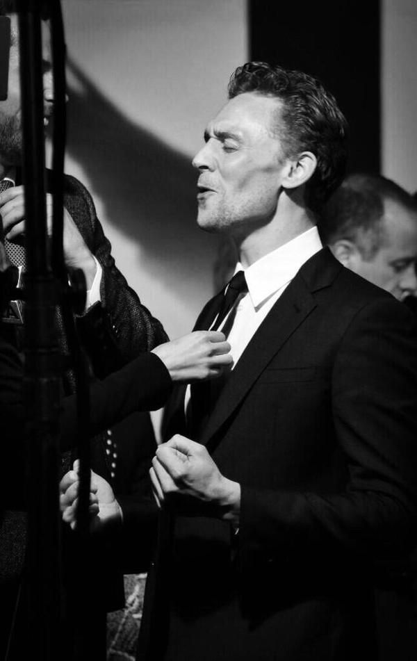 Thanks to a fan on Twitter for sharing - at the premiere of 'Thor: The Dark World' in Los Angeles, USA, on November 4, 2013