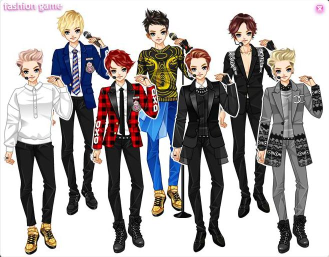 Daum Idols Dress Up Games Photo Dress Up Anime Hair Daum