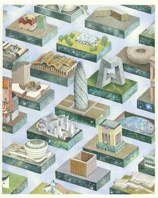L Illustrazione Di Madelon Vriesendorp Sulla Copertina Del Libro Storia Del Post Modernismo Di Char Post Modern Architecture Architecture Books Postmodernism