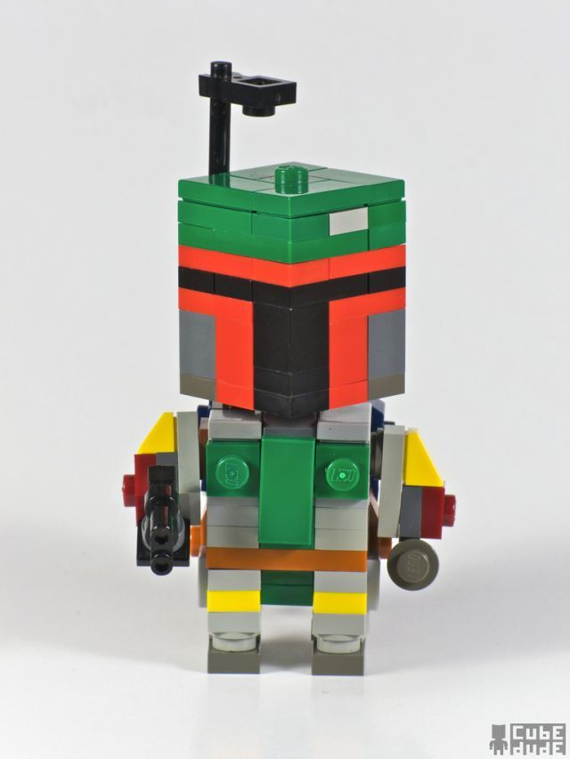 Pop Culture Icons In Lego By Cube Dude Boba Fett Hey Hoo