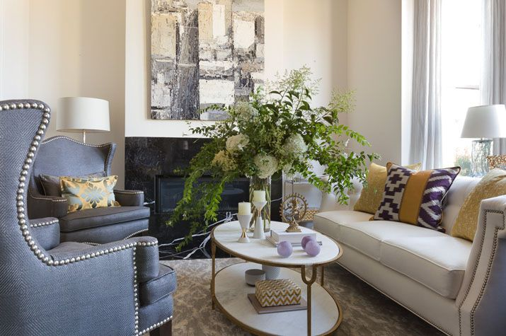 Great balance of formal and casual | Staging furniture ...
