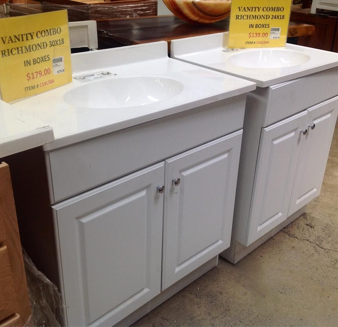 Bathroom Vanities with tops and sinks. #SoutheasternSalvage ...