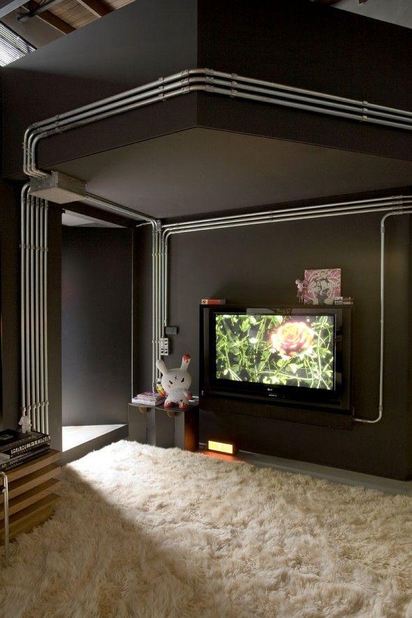 Studio Apartment Interior Design Located In Brazil Free Interior Design  Software, French Country Interior Design