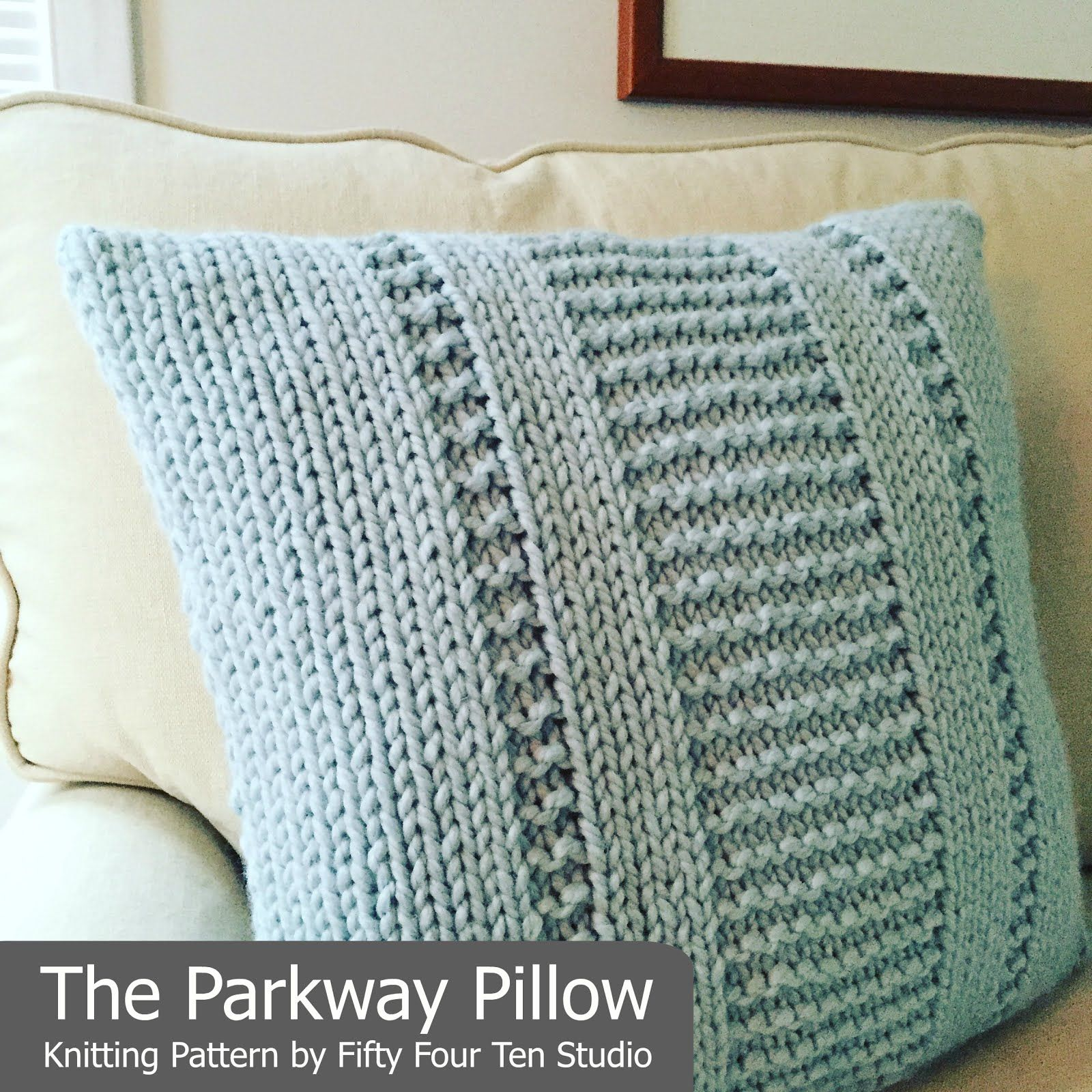 The Parkway Pillow | Knitting | Pinterest | Ganchillo de la abuelita ...