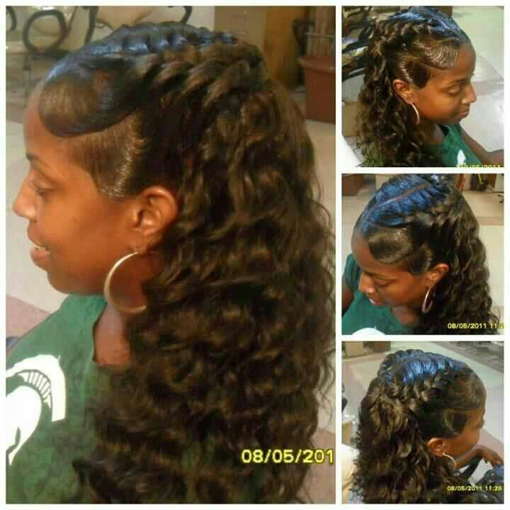 hair braiding styles with weave pin by lanae jones on hair hair style 1864 | 0b9cc4daf31e791f8b12eabf69af199e