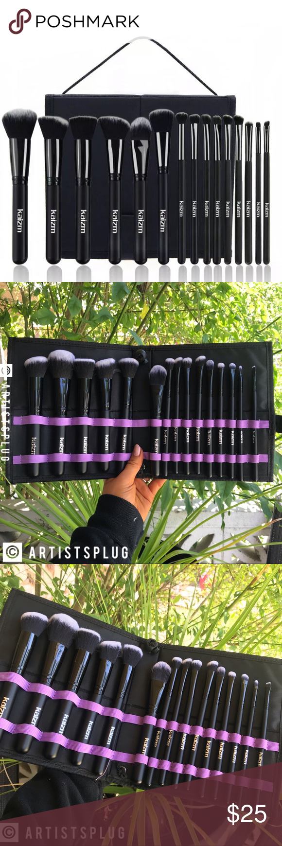 Photo of NEW!! 🌟 15 PIECE FULL FACE MAKEUP BRUSH SET Brand new in high quality, thick,…