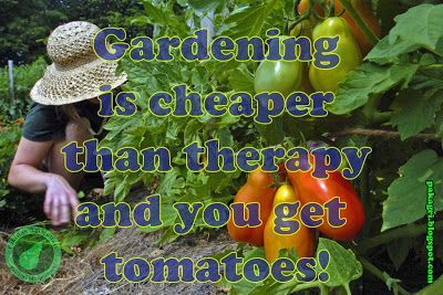Gardening is cheaper than therapy Quote #Christmas #thanksgiving #Holiday #quote