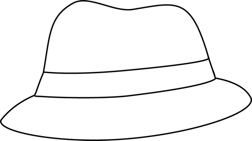 Black And White Black And White Detective Hat