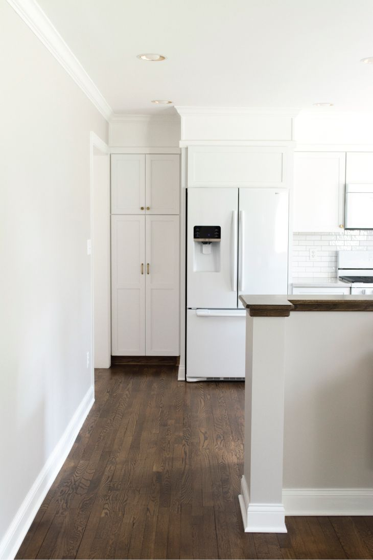 Kitchen Renovation   Oak stain, Minwax and Red oak
