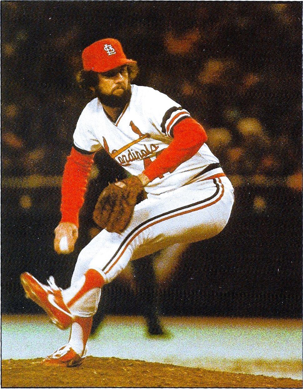 Bruce Sutter Game 2 1982 World Series Baseball Star St Louis Cardinals Stl