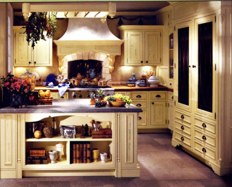The French Country Kitchen Design Idea Can Provide Your With A Look And Feel That