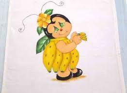 Resultado de imagem para risco de frutas para pintar pano de prato