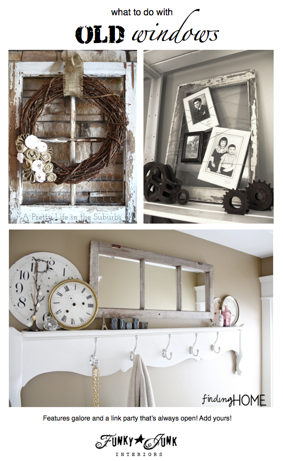 217+ ideas on what to do with old windows | Ventana, Ventanas ...