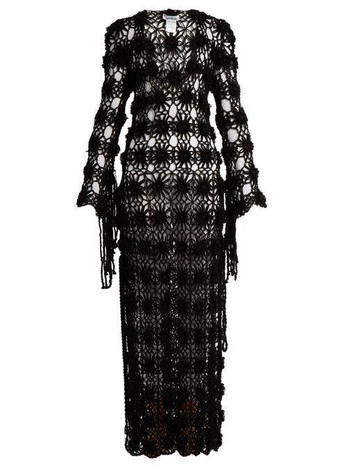 Lotus crochet-knit maxi dress My Beachy Side Supply For Sale kZ6vv