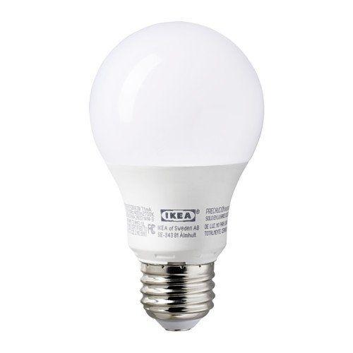 Ledare E26 400 Lumen 6 3 Watts 2700k Opaque Led Light Bulb Set Of 2 Ikea Amazon Com Xox With Images Led Light Bulb Light Bulb Light Bulb Design