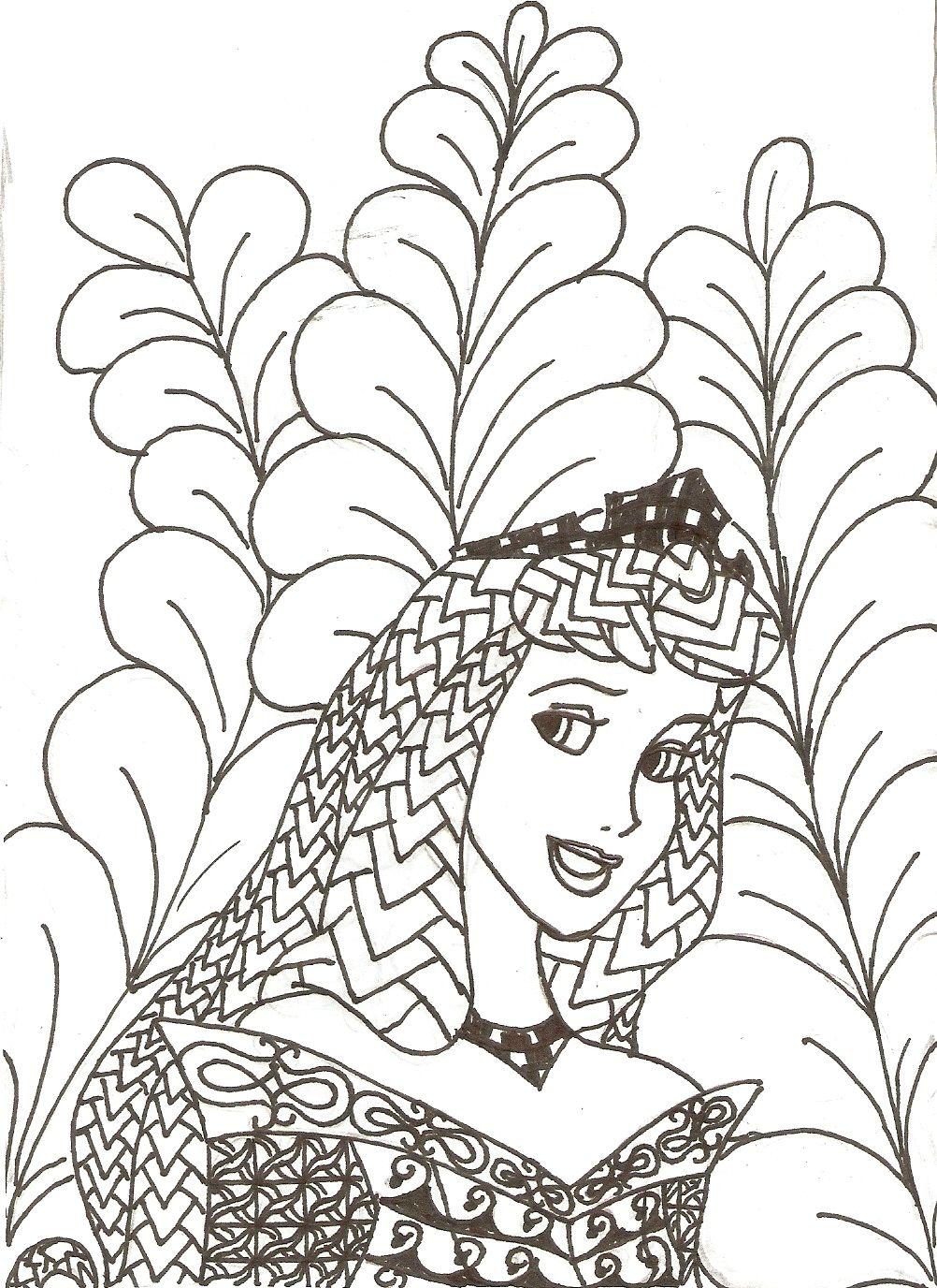 Pin de Tami Gee en Art   Pinterest   Princesa disney, Mandalas y ...