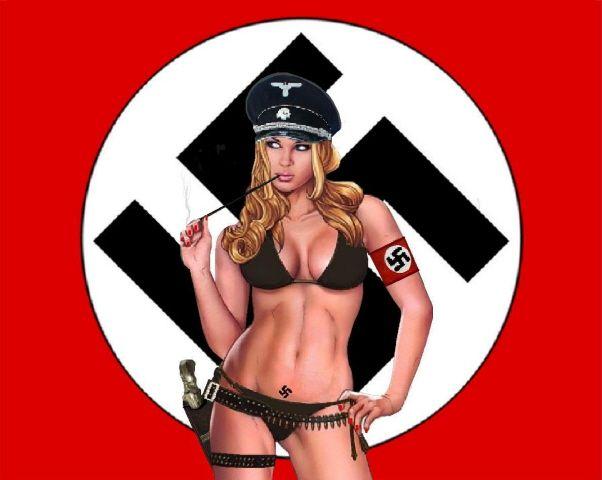 Image result for hot nazis women in lingerie