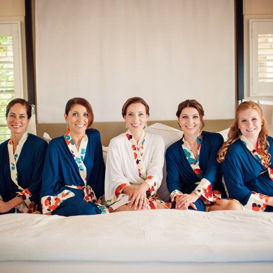 Doie Lounge #bridesmaid #robes at the Carneros Inn in Wine Country