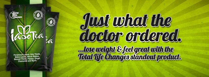 Iaso tea 1 month supply for 3999 total life changes
