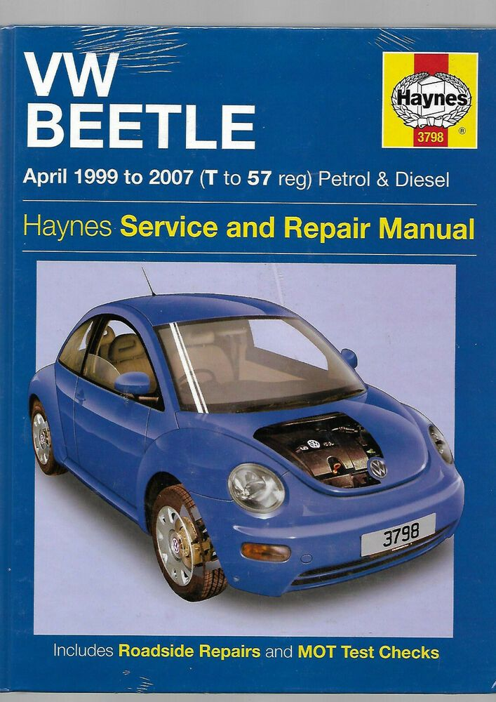 Details About Haynes New Sealed Vw Volkwagen Beetle Owners
