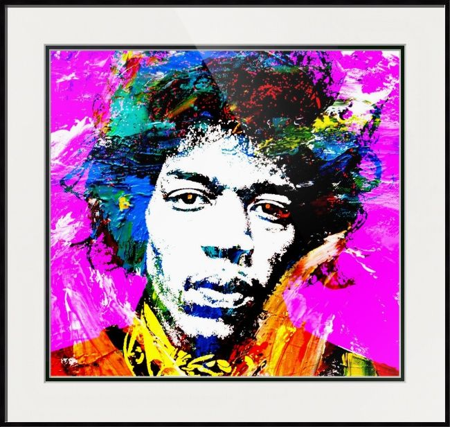 Jimi by otis porritt wall art printsframed printsfine art americapop