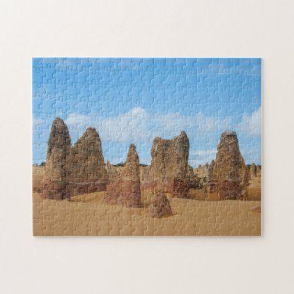 Pinnacles Desert Fun Kids, 252 pieces Jigsaw Puzzle | Zazzle.com