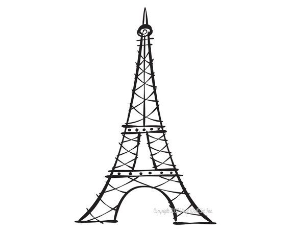 tips for eiffel tower drawing