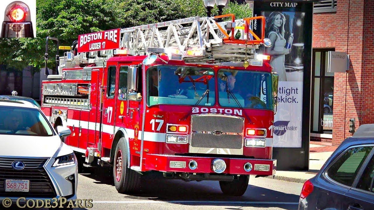 Boston Fire Department Ladder 24 Spare + Car 3 Responding