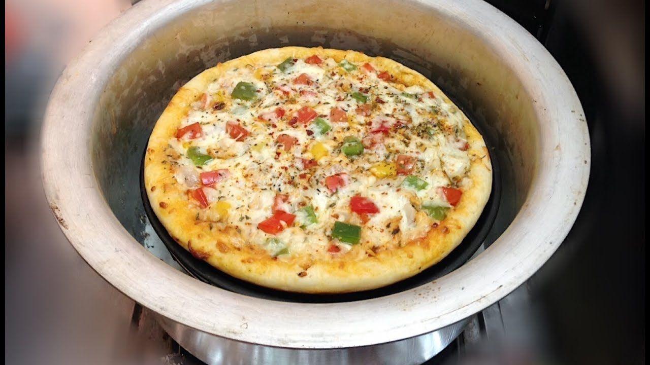 Fajita Pizza Without Oven Thick Crust Fajita Pizza Recipe In