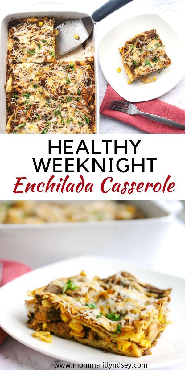 Hidden Veggie Enchilada Bake images