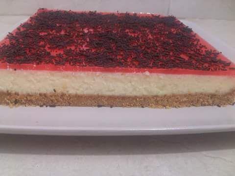 أناقة مغربية تحضير تشيز كيك الطبقات لذيذ و ساهل بالصور Cheesecake Food Desserts