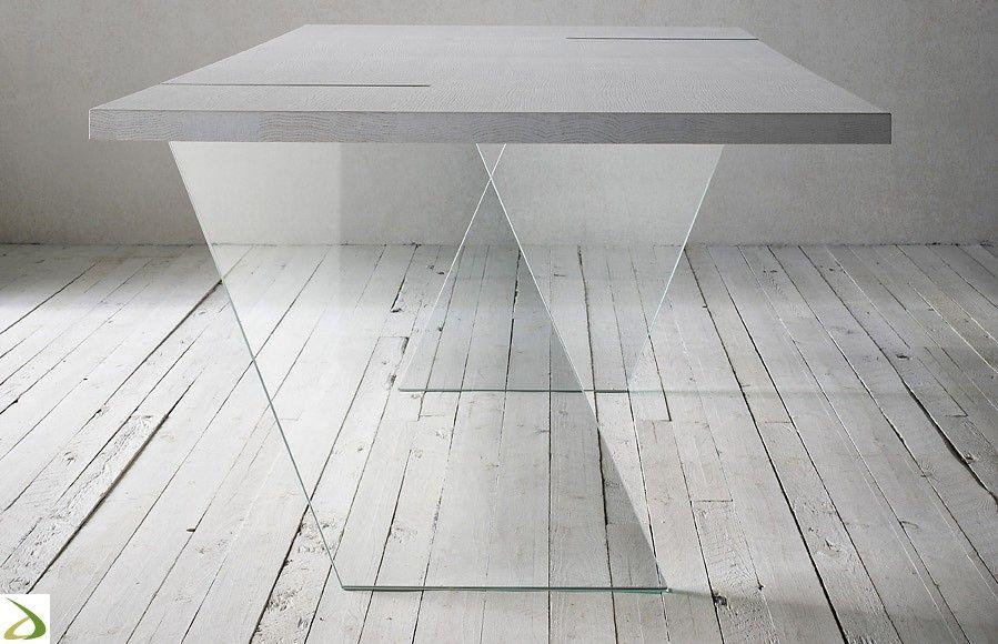 Gambe Per Tavoli Vetro.Tavolo Fliam In 2019 Tavolo Table Design Dining Table