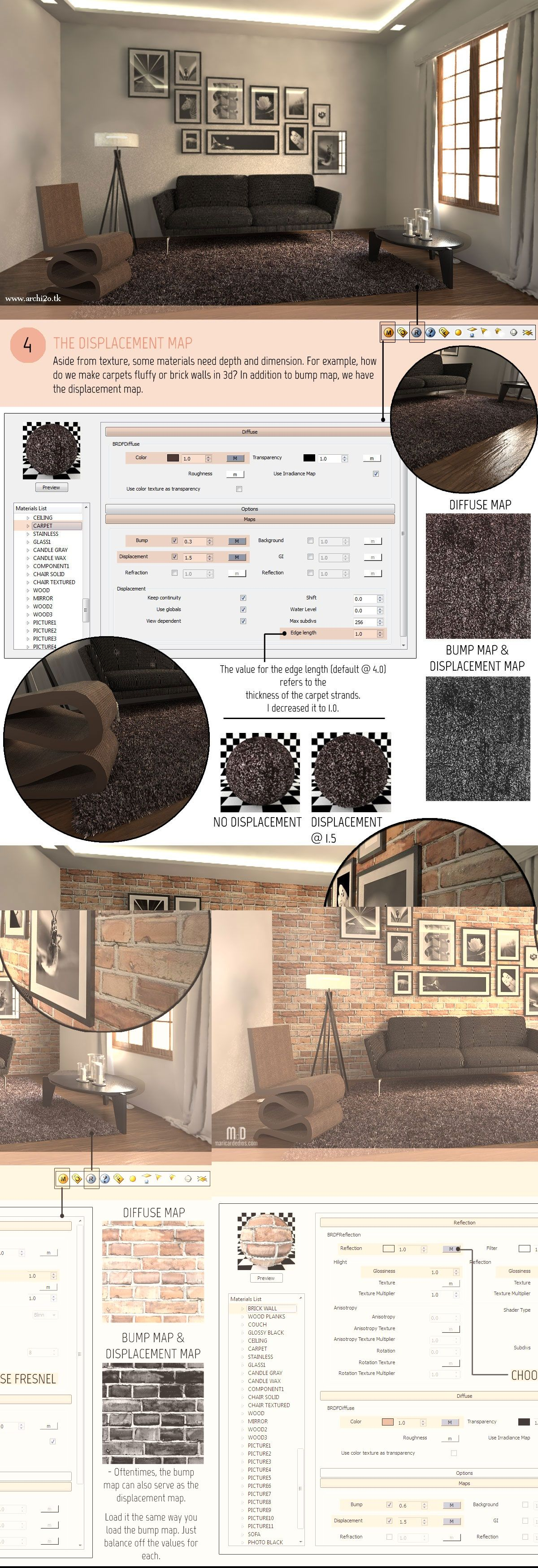 SketchUp Tutorial Part 2: VRAY MATERIALS AND TEXTURES Full