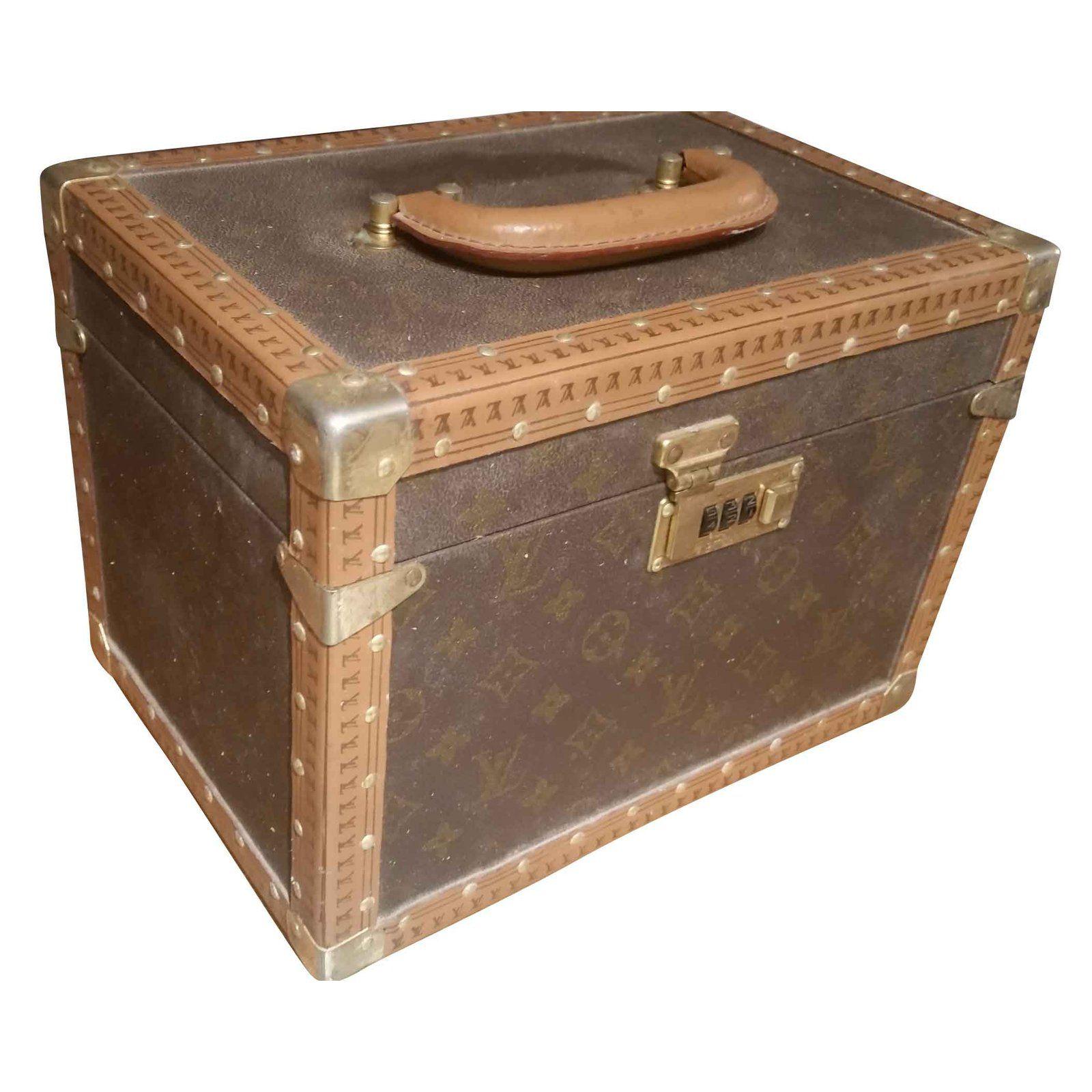 Vanity Case Louis Vuitton Maroquinerie Vanity Case Louis Vuitton