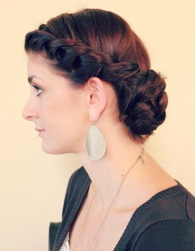 Image Gallery For Vintage Braided Wedding Hairstyles Beauty
