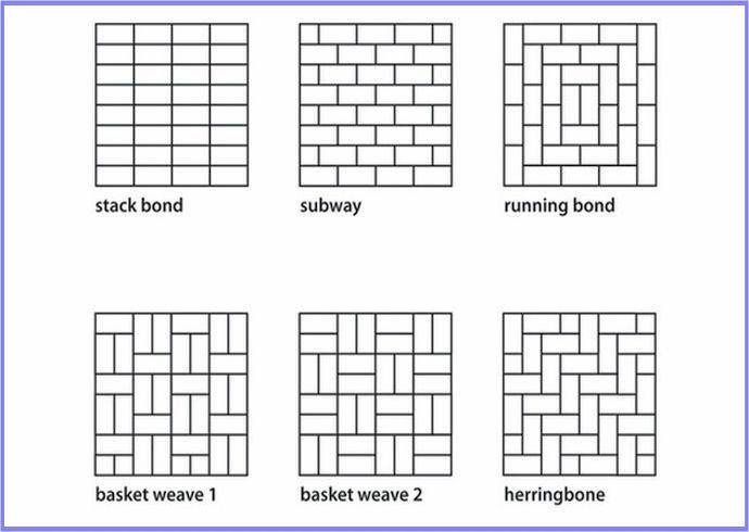 3x6 Subway Tile Pattern Jpg Subway Tile Patterns Tile
