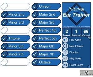 useful music ear training tools online interactive interval ear trainer test your piano. Black Bedroom Furniture Sets. Home Design Ideas
