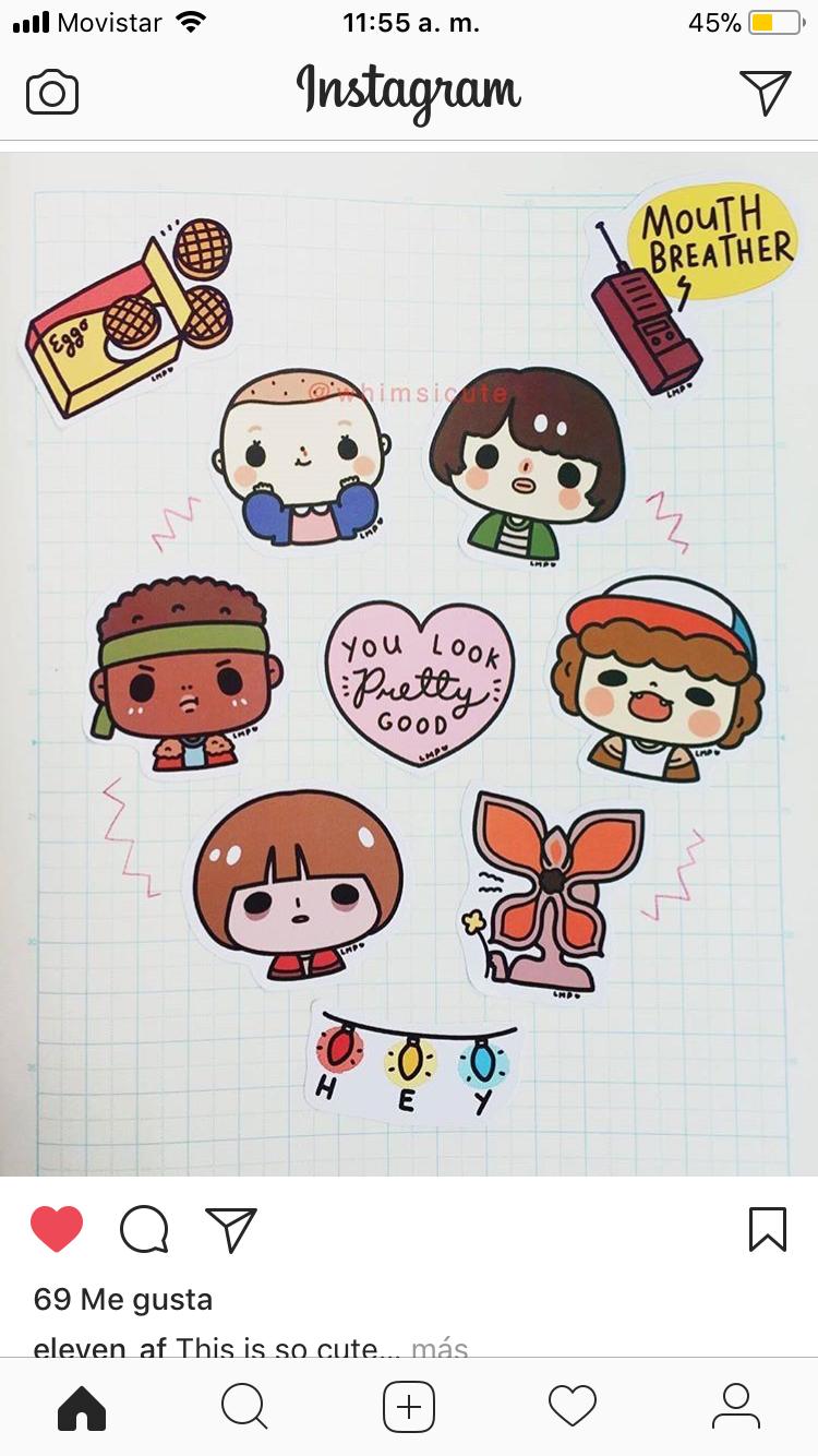 Pin De Jessie Wan En Stranger Things Dibujos Kawaii Dibujos Tumblr Dibujos Simples Tumblr