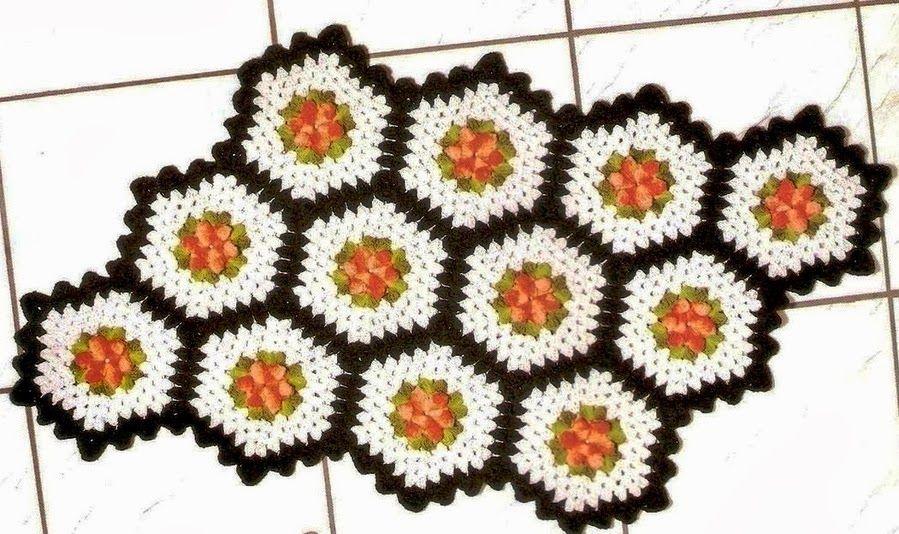 Crochet: capachos e tapetes