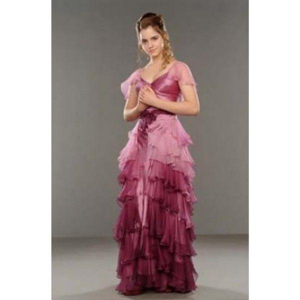 Emma Watson In Harry Potter And The Goblet Of Fire Google Search Kleider Fur Balle Harry Potter Kostum Hermine Granger